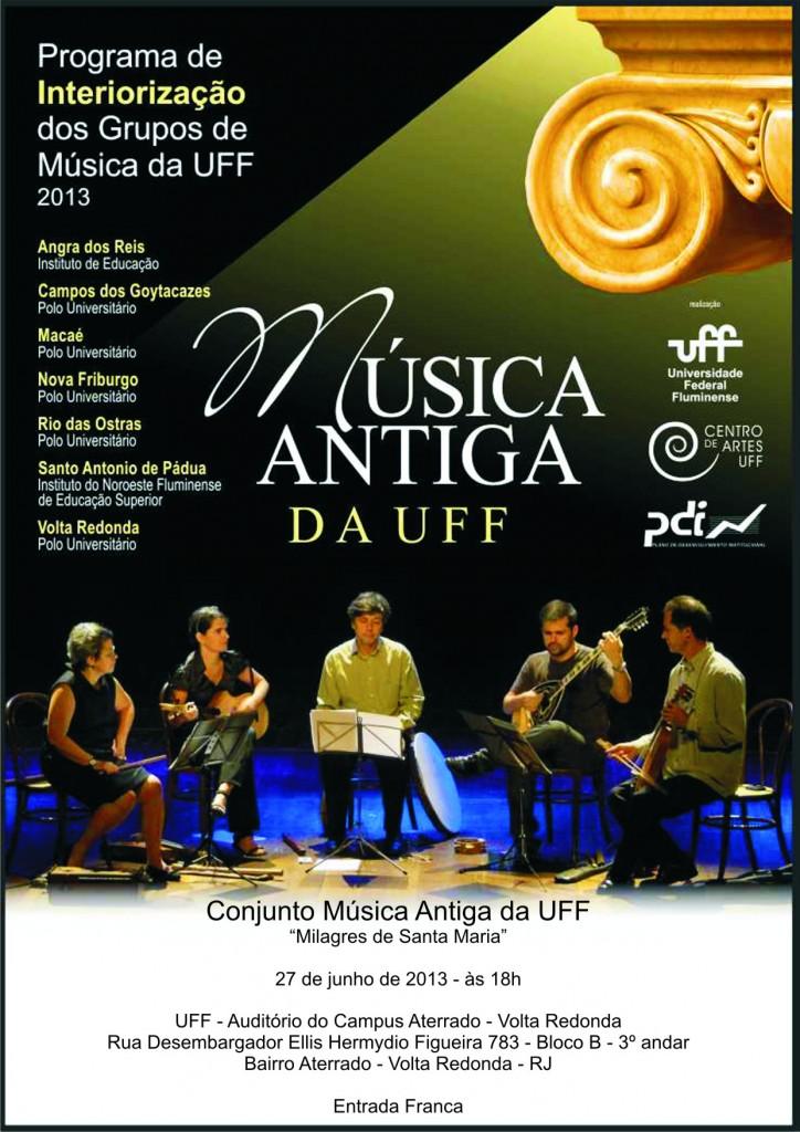 Música Antiga da UFF em Volta Redonda - junho 2013